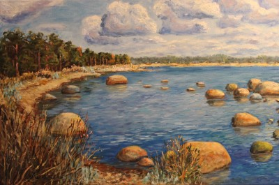 meremaal õlimaal rannamaastik Eesti keiu kuresaar 2016