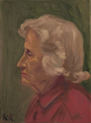 õlimaal naise portree oil painting portrait woman