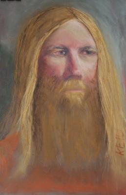 pastel portrait portree Lembit Keiu Kuresaar