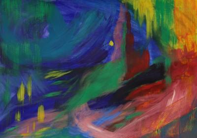 abstraktne maal pealkirjata 1 Keiu Kuresaar