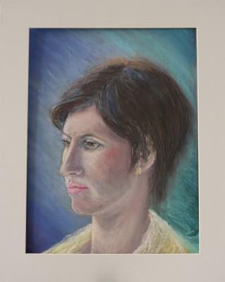 pastel portrait portree pastellmaal Helina Keiu Kuresaar