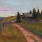 pastel painting landscape maastik pastellmaal Eestimaa estonia Keiu Kuresaar