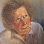 pastel portrait portree pastellmaal ema Keiu Kuresaar