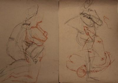 keiu kuresaar krokii live model sketch 7