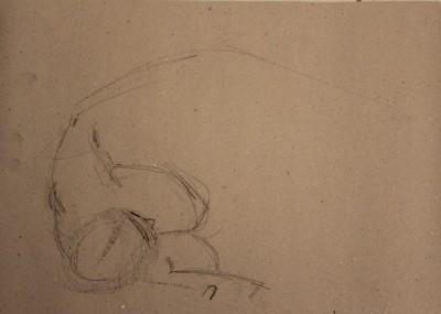 keiu kuresaar krokii live model sketch 9