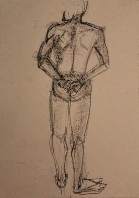krokii mehe figuur 5 min male figure drawing Keiu Kuresaar 3