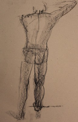 krokii mehe figuur 5 min male figure drawing Keiu Kuresaar 4
