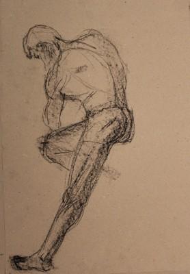 krokii mehe figuur 5 min male figure drawing Keiu Kuresaar 5
