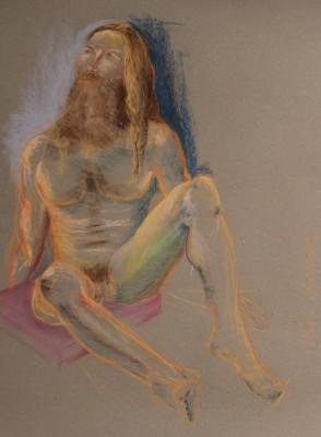 figuurijoonistus krokii akt mees figure drawing male nude Keiu Kuresaar