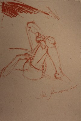 figuurijoonistus krokii mees figure drawing male 10Keiu Kuresaar