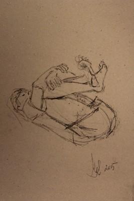 figuurijoonistus krokii mees figure drawing male 4 Keiu Kuresaar