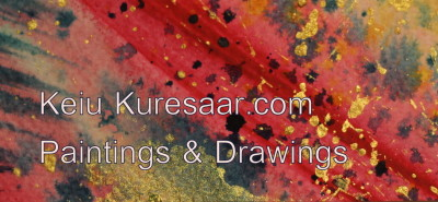 business card visiitkaart keiu kuresaar paintings drawings abstract original art 5 big