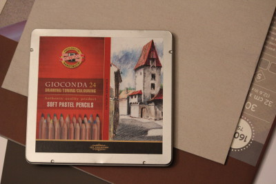 Koh-i-noor Gioconda pastellpliiatsite komplekt, (24 värvi)