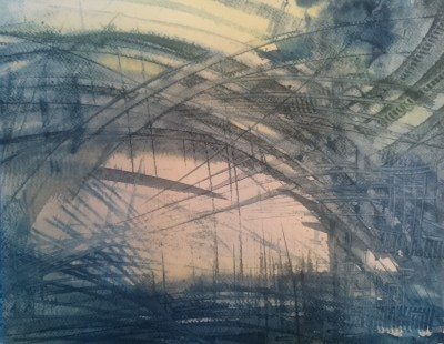 akvarellmaal tulevik kunst keiu kuresaar