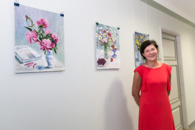 keiu kuresaar maalid lillemaalid näitus kunstnik artist
