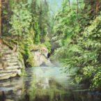 keiu kuresaar õlimaal maastik mets eesti jõgi suvi oil landscape forest woods river summer estonia